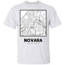 Novara Clothing Size Chart Amazon Com Novara City Map Ultra Cotton T Shirt Clothing