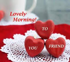 heart shape lovely good morning wallpapers for sweet friends