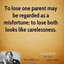 Losing A Parent Quotes Simple Oscar Wilde Quotes QuoteHD
