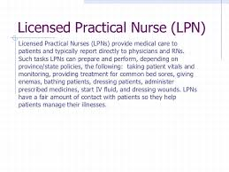 5 licensed practical nurse critical care nurse job description responsibilities