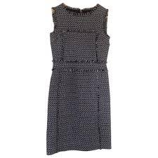 Tory Burch Dress Tory Burch Grey Size 4 Us In Wool 2358528