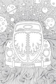 Volkswagen Coloring Pages Fun Time