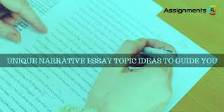 narrative essay topics ideas best narrative essay guidelines for the students