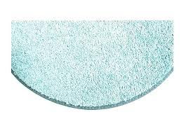 teal circle rug round crazy carpet seats soft aqua blue green mats area