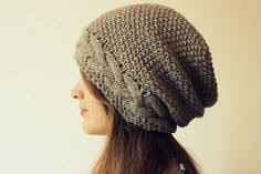 Free Slouch Hat Knitting Patterns Unique Free Knitting Pattern For Mossing Around Slouchy Beanie Hat