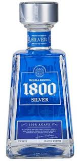 spirits tequila 1800 silver