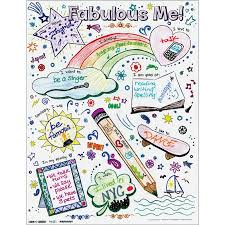 Ready-To-Decorate Fabulous Me! Posters