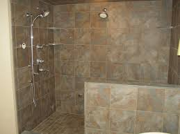 bathroom glass door beside calm wall paint small bathroom walk in shower designs light cream