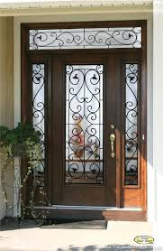 entry doors with glass wrought iron glass front entry doors entry commercial exterior glass doors
