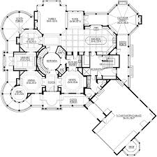 Plan W23222JD Grand Estate Home With Lots Of Extras  E Estate Home Floor Plans
