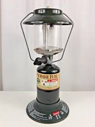 Coleman Two Mantle Propane Lantern Model And 50 Similar Items