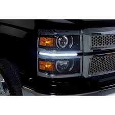 PUTCO 290105T Silverado LED SwitchBack DayLiner Silver Pair ...