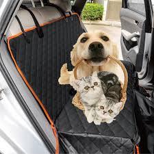 pet car seat cover dog safety mat cushion rear back seat protector hammock