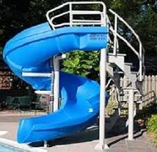 Outdoor pool with slide Backyard Vortex Commercial Swimming Pool Slide By Sr Smith Restmeyersca Home Design All Inground Swimming Pool Slides Manufactured By Sr Smith For