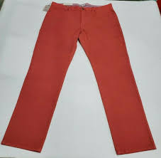 Peter Millar Men's 40W Crown Vintage Canvas Pants 5 Pocket ...