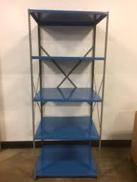 new industrial steel shelving at used s
