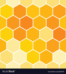 Beehive Pattern Classy Seamless Honeycomb Pattern Royalty Free Vector Image