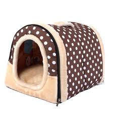 Haresle Portable Small Pet House Soft Bed <b>Cat House</b> Washable ...