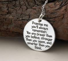 Promise Ring Quotes Gorgeous Gift From DAD Promise Me You'll Always Etsy