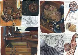 still life gcse sketchbook pages