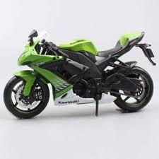 maisto 2016 hot 1 12 children s kawasaki ninjazx 10r cast motorbike race cars vespa collectible