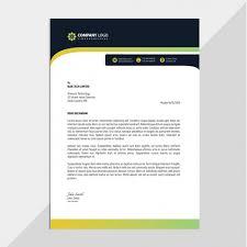 Professional Company Letterhead Professional Corporate Letterhead Vector Premium Download