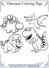Small Picture Dinosaur Coloring Pages