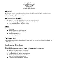 Administrative Assistant Resume Templates 2017 Best Of Inspiring Administrative Assistant Resume Sample With Technical For