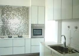 cream backsplash tile stainless steel sheets glass pendant painting cabinets white coffee maker natural stone tile cream backsplash tile white kitchen