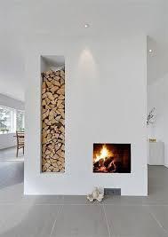 Scandinavian Fireplace - Modern Fireplaces: Rustic + Refined | Fireplaces |  Pinterest | Scandinavian fireplace, Fireplace modern and Modern fireplaces