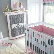 baby nursery girl elephant bedding ideas purple pink and