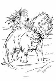 Small Picture Triceratops and palm trees coloring pages Hellokidscom