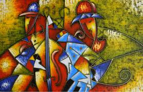 hand painted oil painting on canvas modern abstract picasso canvas painting wall art picture for living