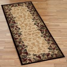 home interior it s here burdy rug runner lavish home 2 ft x 5 cotton