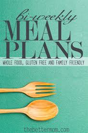 weekly meal planning for two bi weekly meal plans the better blog the better