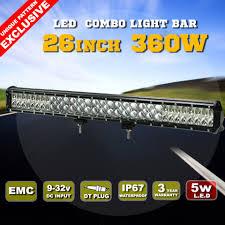 12 Volt Led Light Bar For Golf Cart 26 Inch New Waterproof 12 Volt Roof Mount Car Led Light Bar