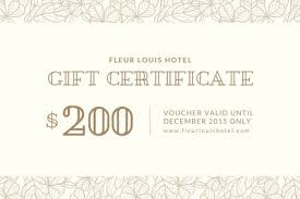 Gift Certificate Printable Free Customize 780 Gift Certificates Templates Online Canva