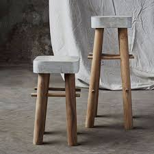 DIY Barstools - DIY Concrete Bar Stools - Easy and Cheap Ideas for Seating  and Creative
