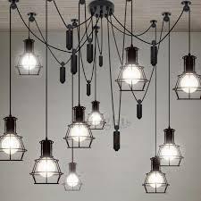 pendant lighting industrial. 10 Light Country Style Industrial Kitchen Lighting Pendants Pendant S