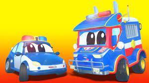 Xe cảnh sát trở thành thị trưởng thành phố xe hơi! - Thành phố xe hơi -  Hoạt hình thiếu nhi - YouTube
