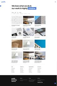 Blog Portfolio Design Grafik Portfolio Design And Architecture Theme Brand