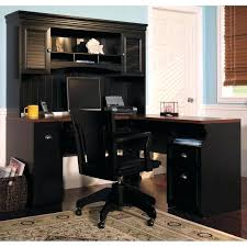 corner office desk hutch. Office Desk With Hutch Black Fireplace Cool L Shaped Within Corner Computer For