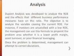Dupont Chart Definition Dupont Analysis With Example Ppt Notes Bba Mantra