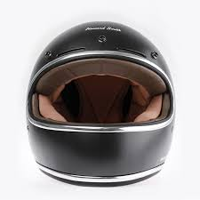 jual cargloss howard smith cafe racer full face gun metal m helm cargloss