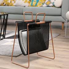 Living Room Magazine Holder New Minimalist Modern Design Living Room Floor Standing Magazine Rack