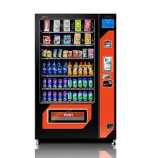 Vending Machine Credit Card Acceptor Impressive China CESGSISO48 Approved Combo Vending Machine For Drinks And