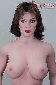 7sf194 Celeste Body 2d Sexy Curvy Naked Brunette Big Boobs