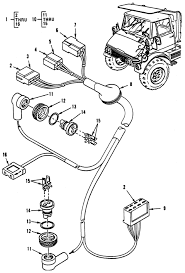 Hull or chassis wiring harness hazard warning light wiring harness and special cable assembly
