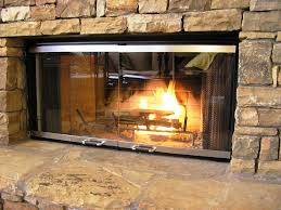 fireplace doors glass fireplace screens with doors replace fireplace doors