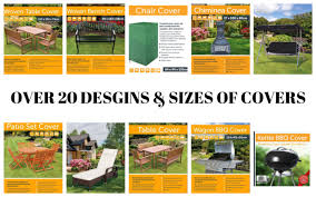 patio cover xl large garden set oval